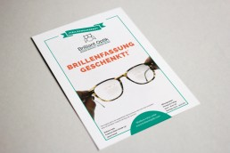 Anzeige, Brilliant Optik, Printdesign