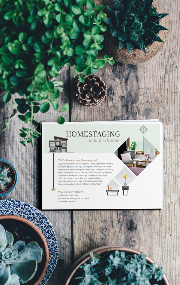 homestaging kassel göttingen branding card karte flyer