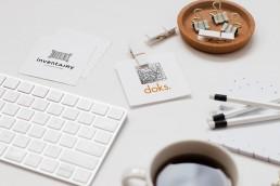 doks. innovation startup kassel branding logo