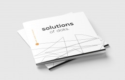 Broschüre design doks kassel innovation startup