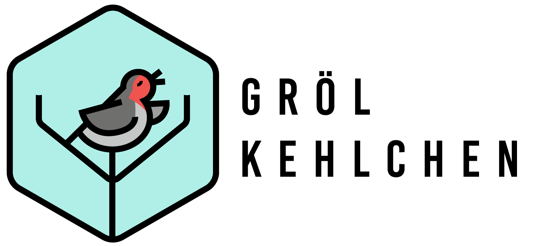 Grölkehlchen Logo
